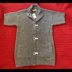Michael Kors Short Sleeve Cardigan Sweater